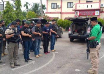Polda Aceh melakukan tindakan terhadap Premanisme.