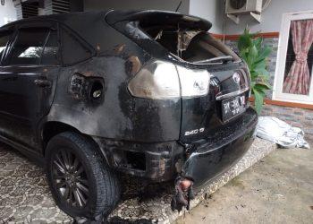 Mobil Milik YARA Perwakilan Langsa Dibakar OTK